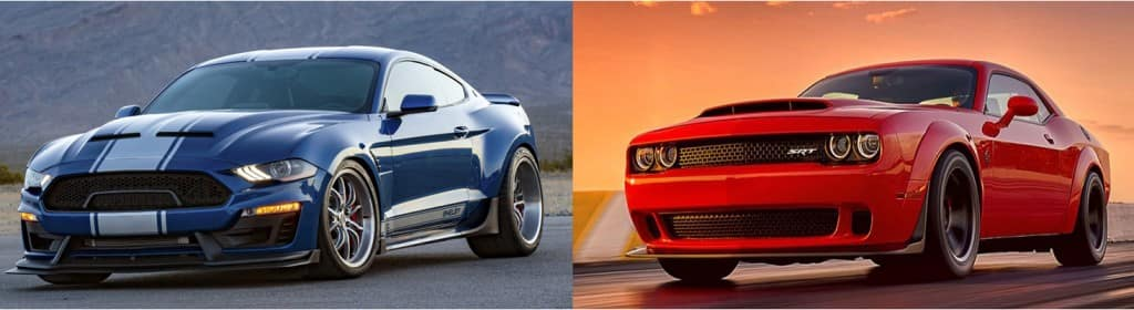 Shelby S Super Snake Mustang Vs Dodge Challenger Srt Demon