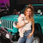 Maria Menounos Jeep Kendall Dodge