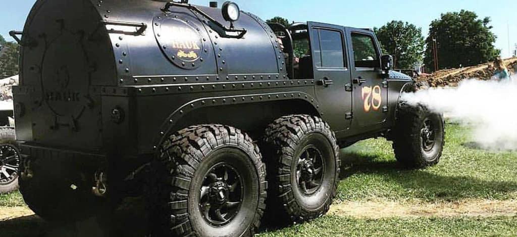 6x6 steam jeep wrangler kendall dodge