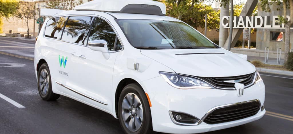 Waymo Chrysler Pacifica Hybrid Kendall Dodge