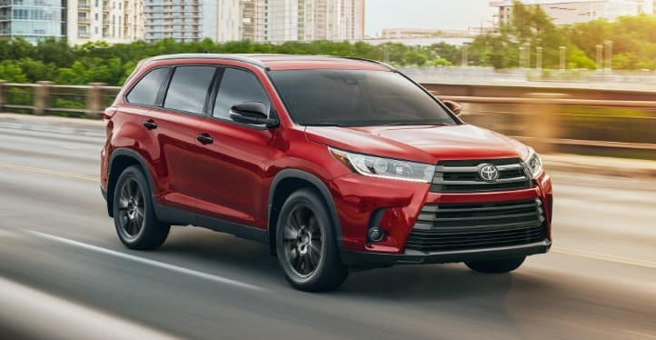 New Toyota Highlander