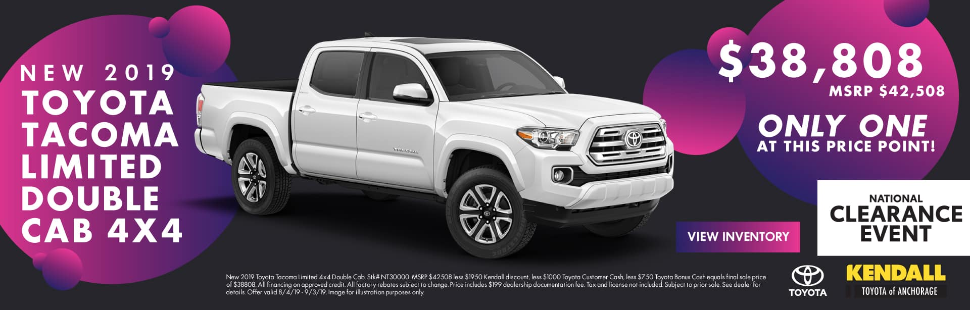Toyota Tire Sale >> New And Certified Toyota Dealership Used Cars In Anchorage