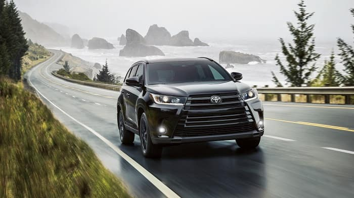 "New Toyota Highlander Hybrid"" width="