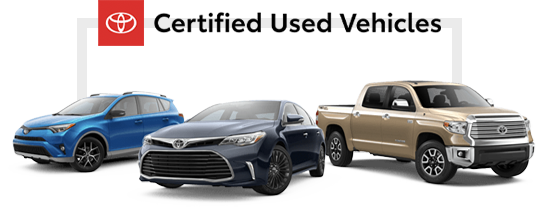 Toyota Certified Used Vehicles