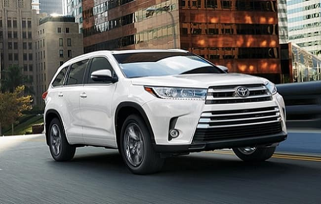 New Toyota SUVs & Crossovers