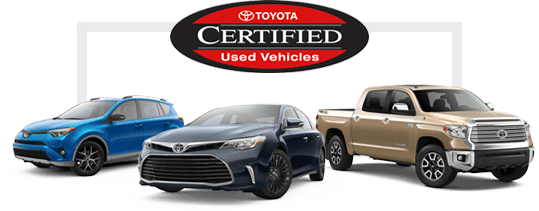 Certified Pre-Owned Toyota Cars