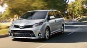 New Toyota Minivans
