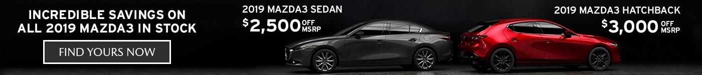Mazda3 On Sale VLP