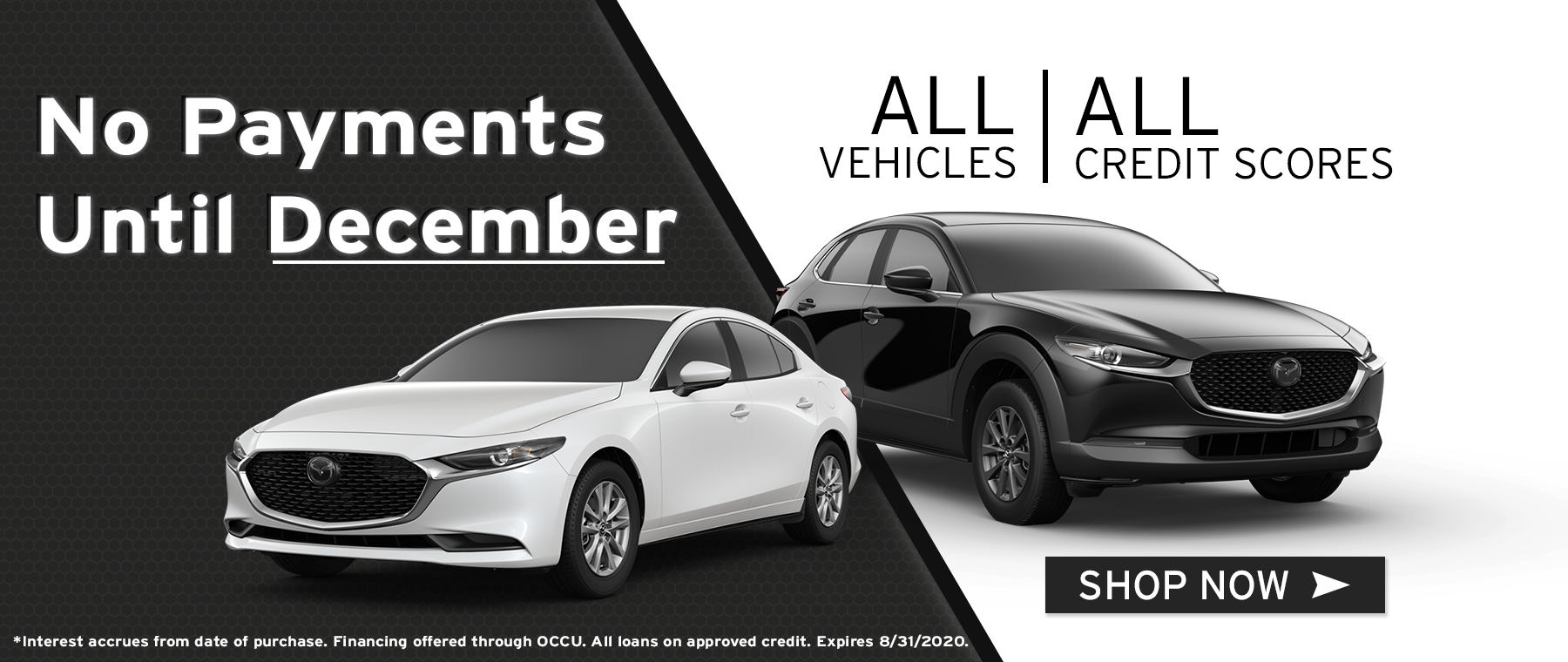 No Payments Until December All Vehicles All Credit Scores