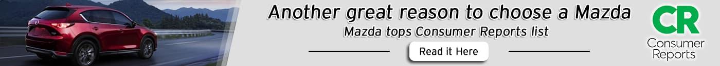 Mazda Tops Consumer Reports List