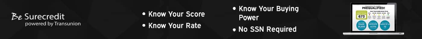 BeSure Credit Follow Banner