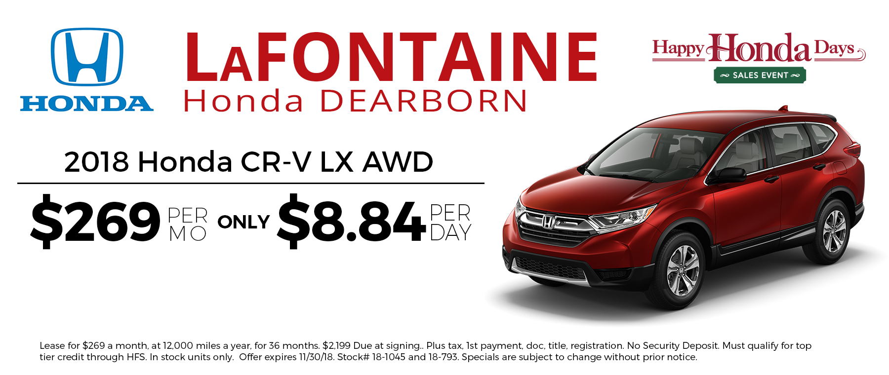 Lafontaine Used Cars >> LaFontaine Honda | Honda Dealer in Dearborn, MI