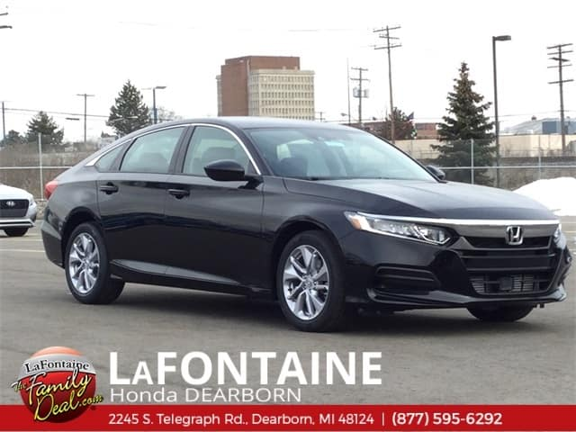 2018 Honda Accord LX 1.5T Sedan Automatic