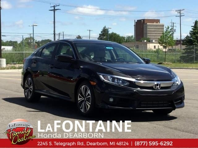 2018 Honda Civic EX-T FWD Automatic 4D Sedan