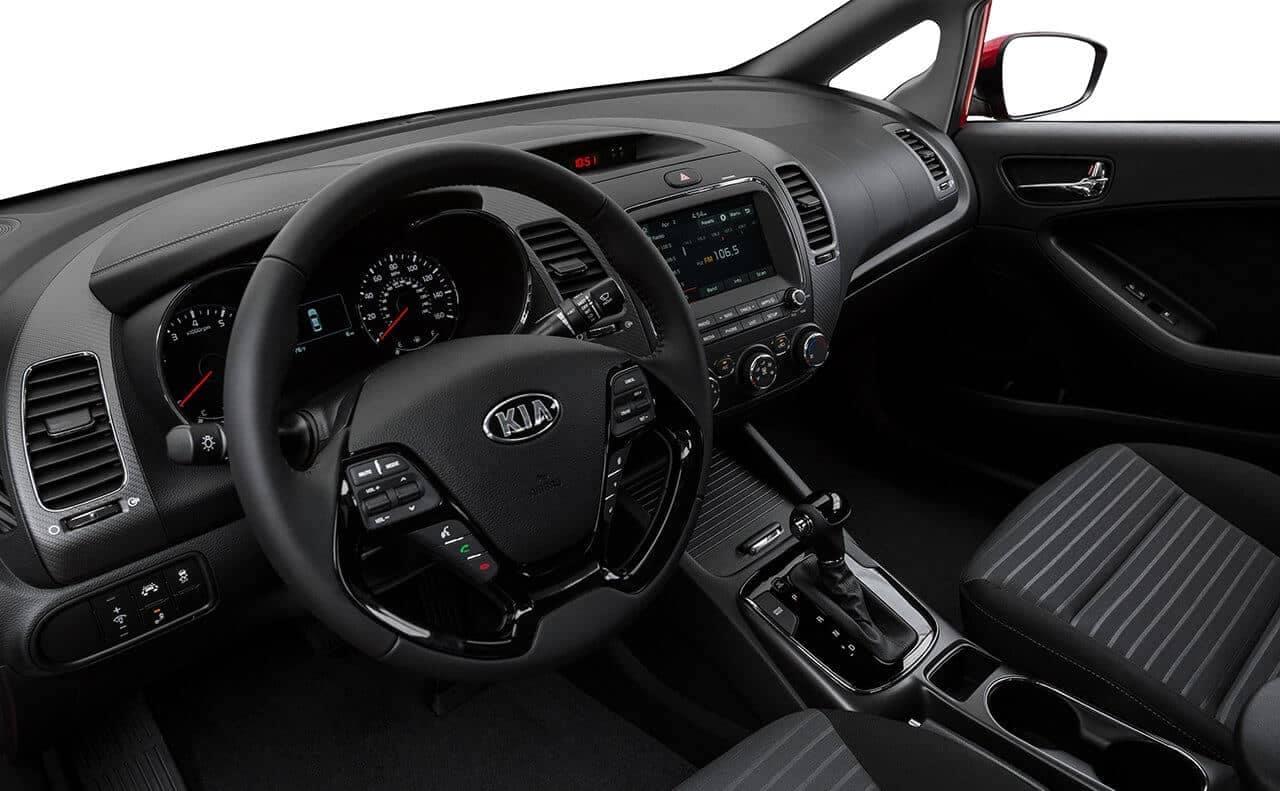 2018 Kia Forte interior dashboard