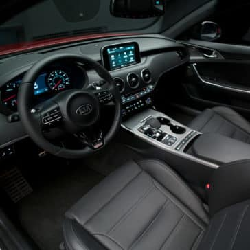 dashboard of 2018 Kia Stinger