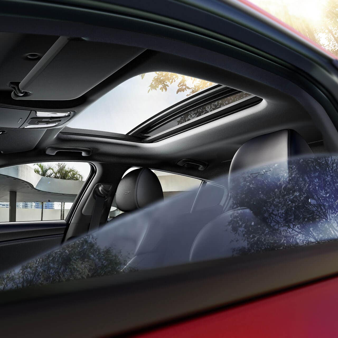 moonroof in 2018 Kia Stinger