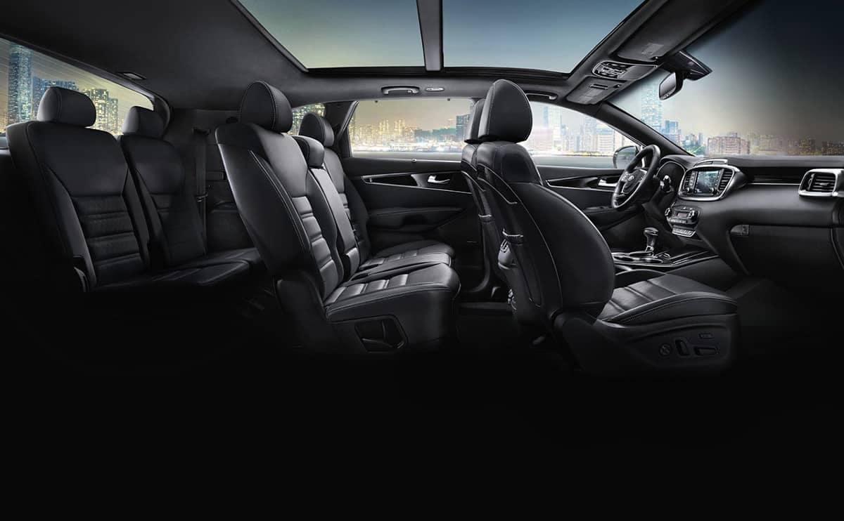 2019 Kia Sorento three row seating