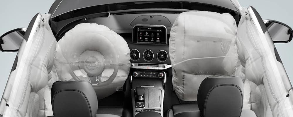 2018 kia stinger interior safety