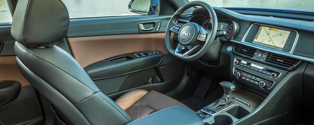 leather appointed 2019 optima interior
