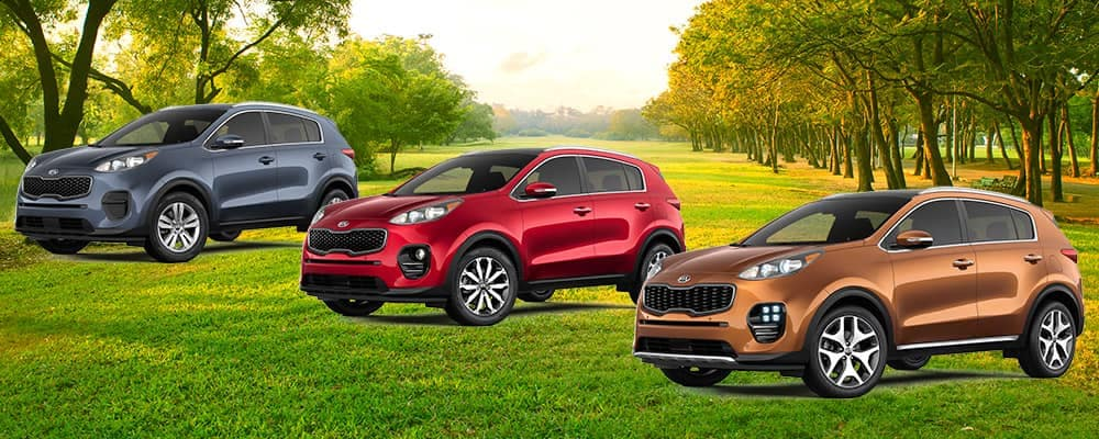2019 Kia Sportage LX vs EX vs SX Turbo trim levels