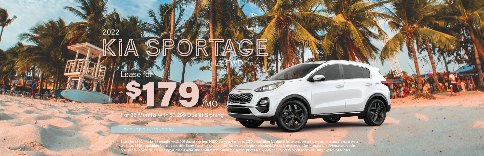 Lafontaine Kia Sportage – May