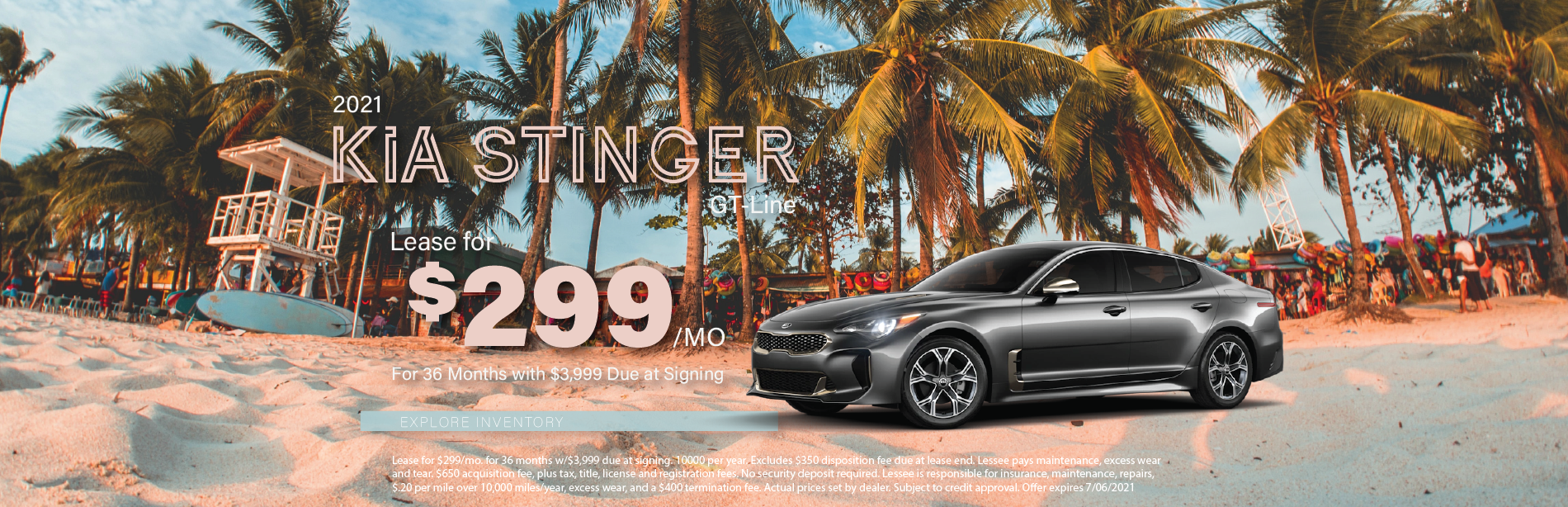Lafontaine Kia Stinger – May