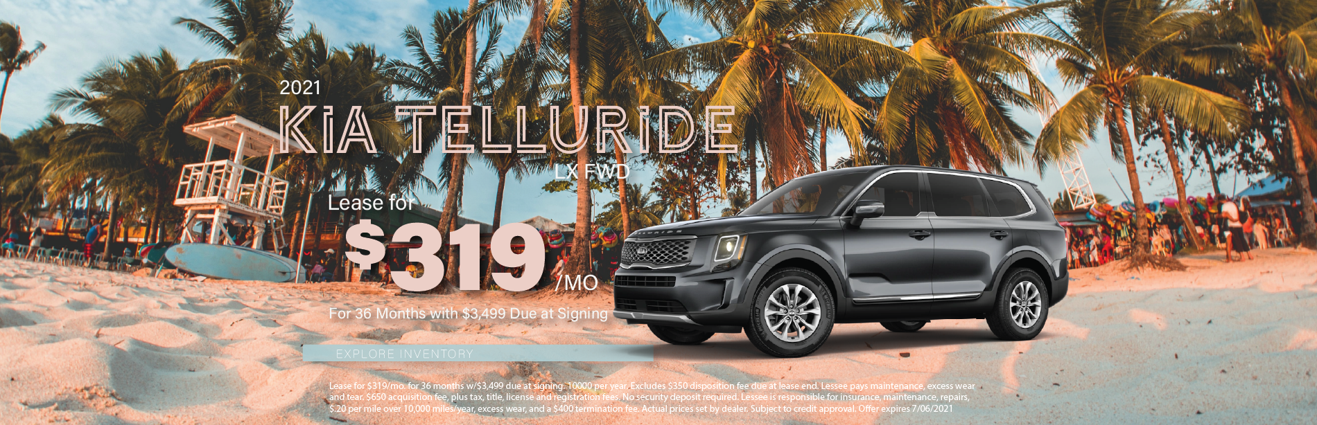 Lafontaine Kia Telluride – May