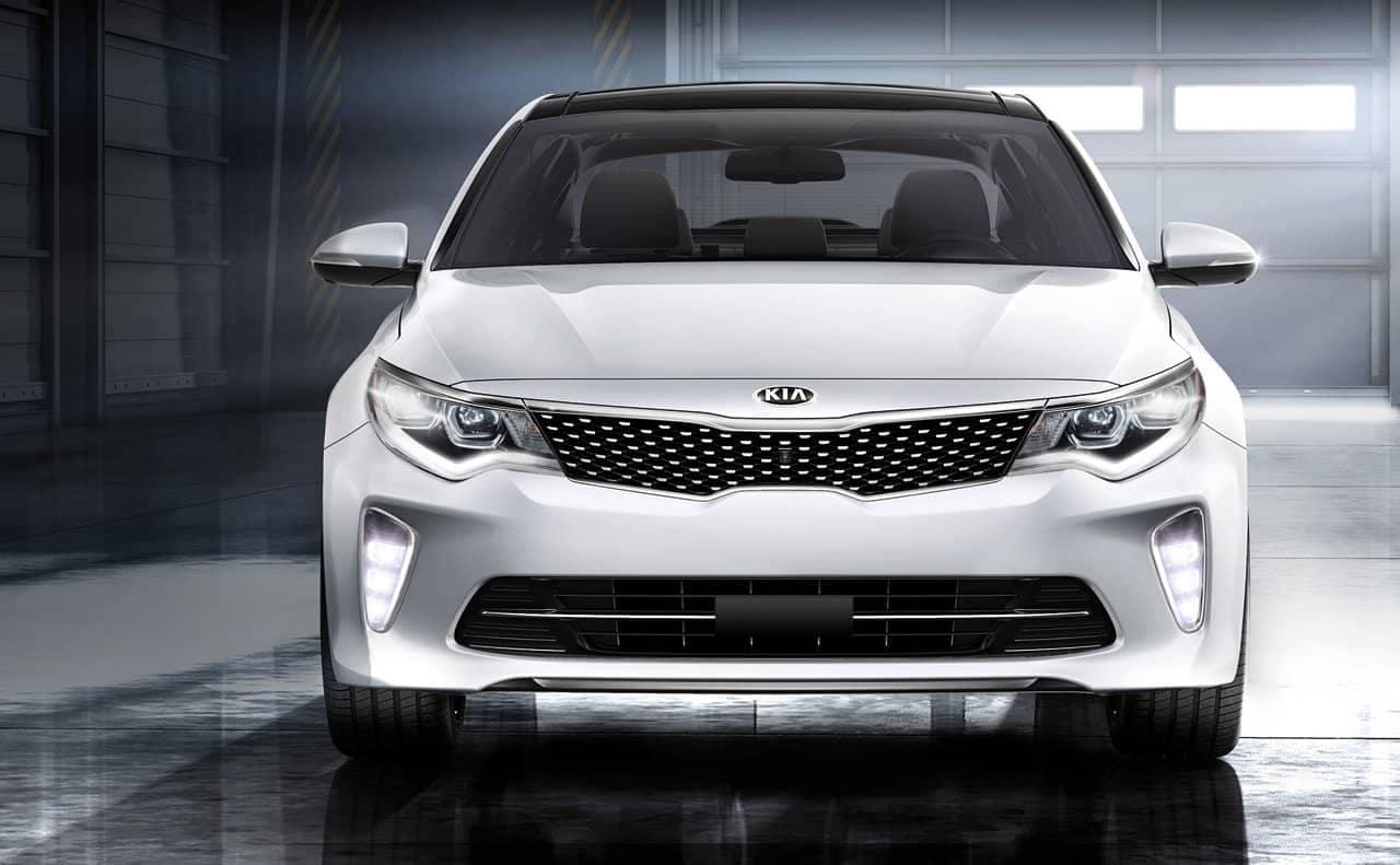 2018 Kia Optima front fascia