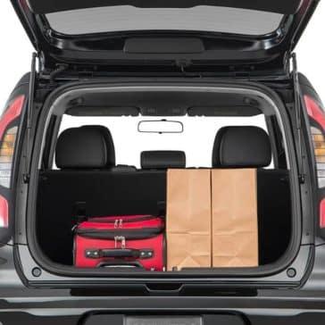 2019 Kia Soul cargo space