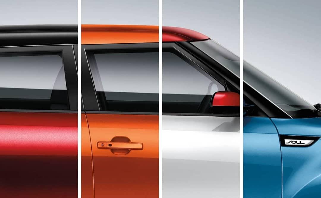 color options for 2019 Kia Soul
