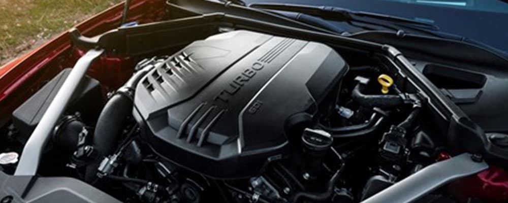 2018 stinger turbo engine