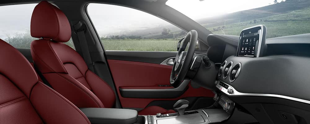 2018 stinger front seats and interior
