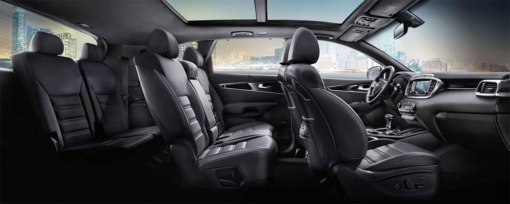 2019 Kia Sorento Interior 3rd Row Seating
