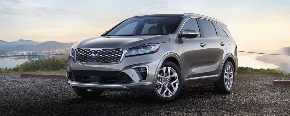 2019 sorento parked in gravel lot