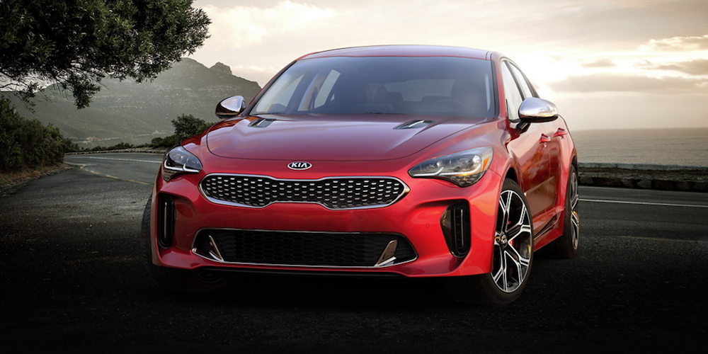 2019 Kia Stinger Parked On Roadside