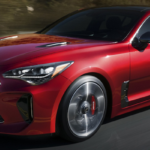 2019 Kia Stinger Driving Down Highway