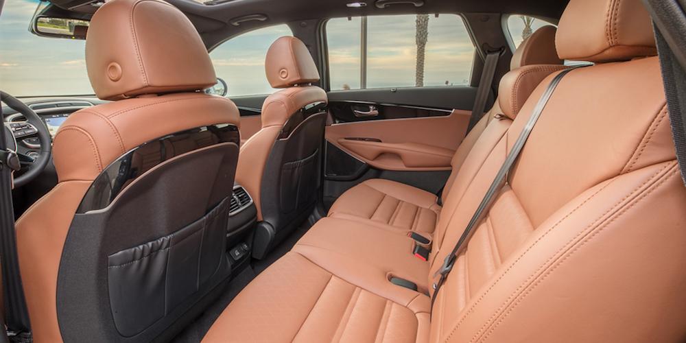 2019 Kia Sorento Beige Leather Interior