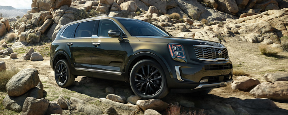 2020 Kia Telluride Off-Roading