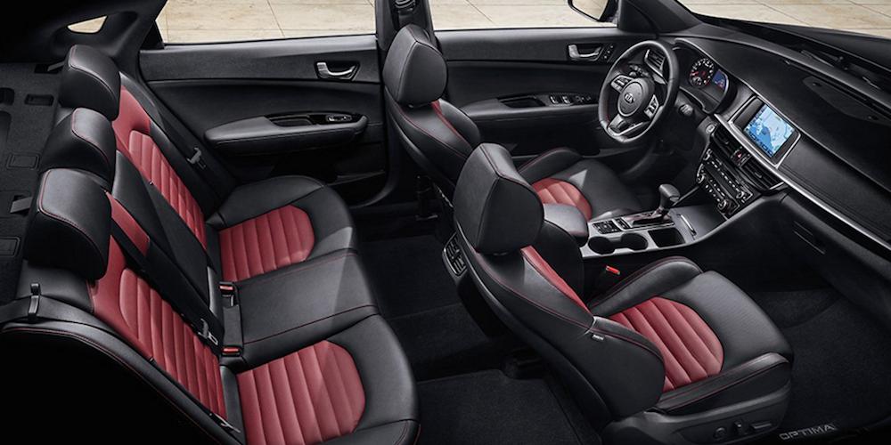 Kia Optima Overhead Leather Interior