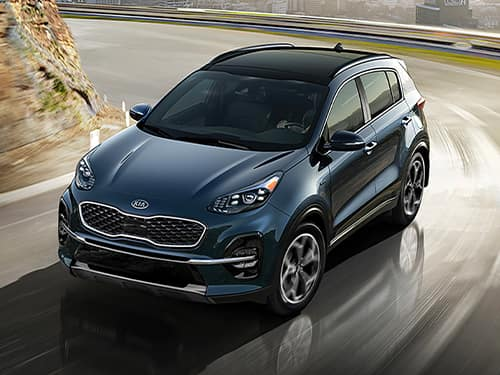 New 2022 Kia Sportage LX 2.4L FWD 6AT