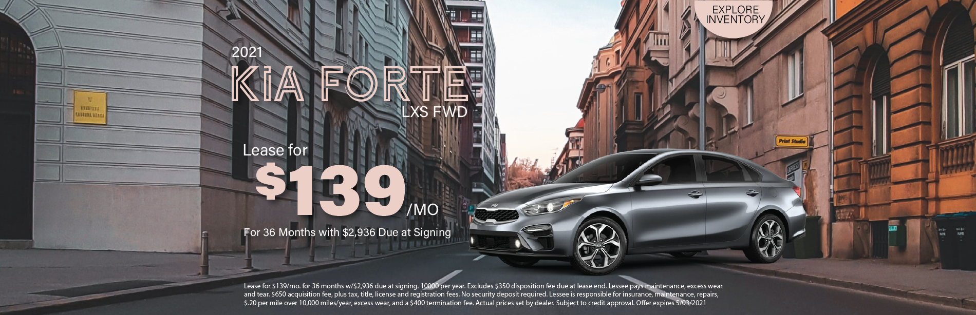 Lafontaine Kia Forte- April 2021