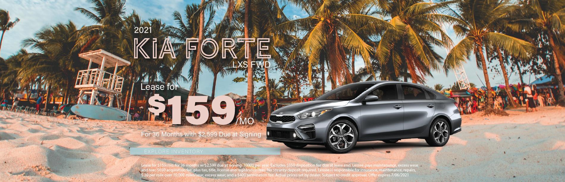 Lafontaine Kia Forte – May