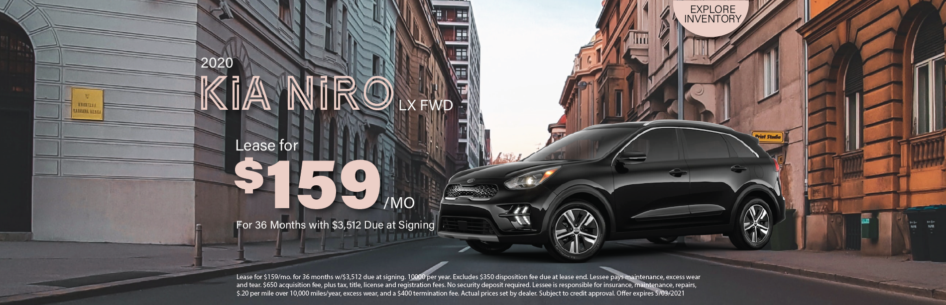 Lafontaine Kia Niro- April 2021