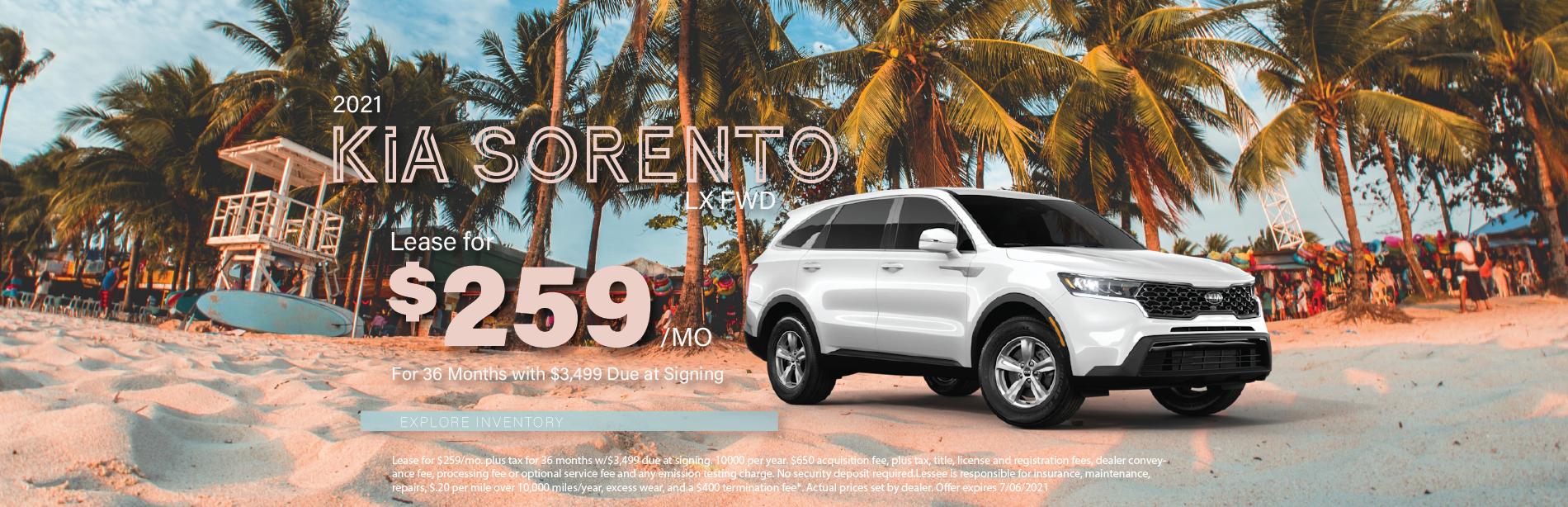 Lafontaine Kia Sorento updated – May