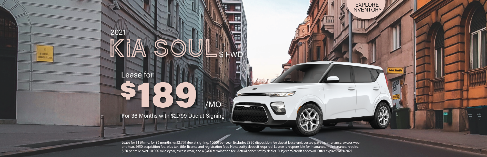 Lafontaine Kia Soul- April 2021