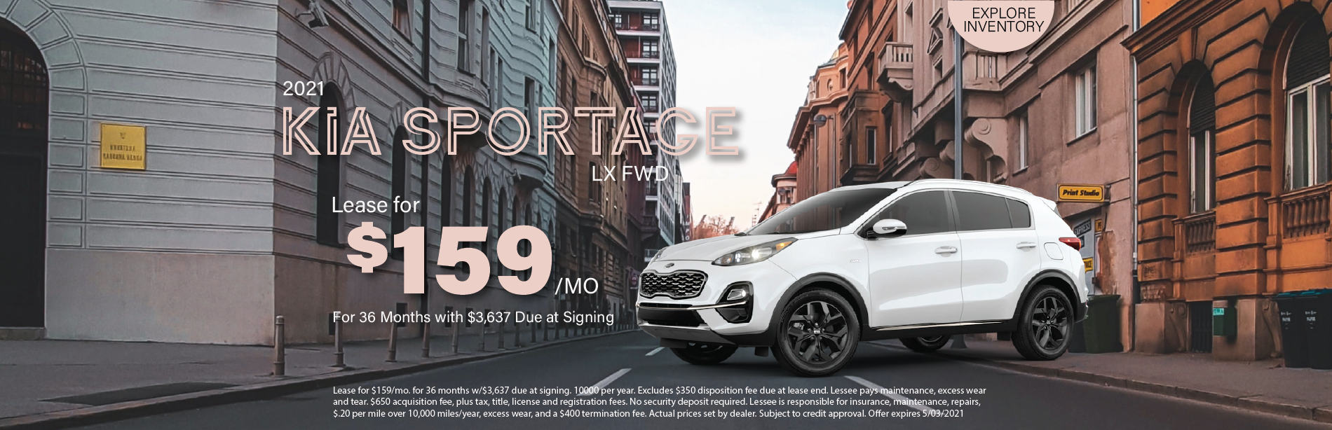 Lafontaine Kia Sportage- April 2021