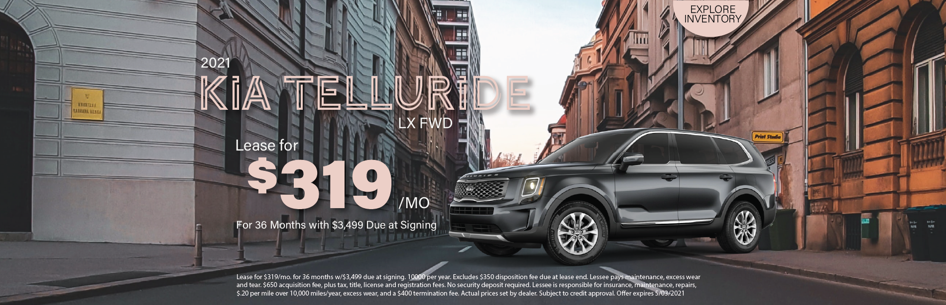 Lafontaine Kia Telluride- April 2021