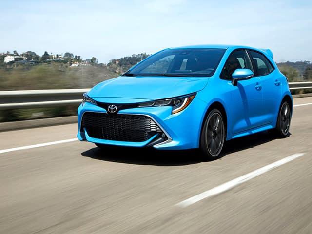 New 2020 Toyota Corolla Hatchback SE FWD 5D Hatchback