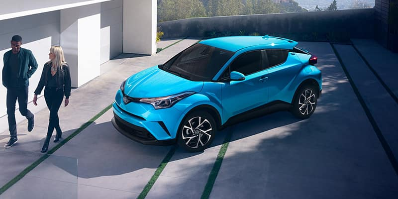 New 2019 Toyota C-HR LE FWD 4D Sport Utility